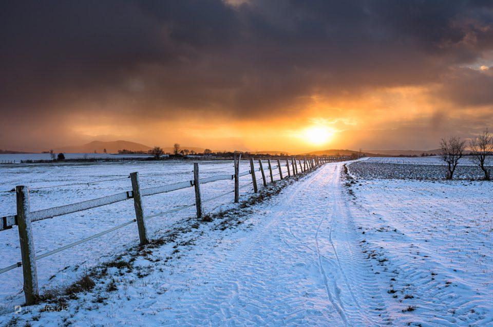 Sonne vs. Schnee