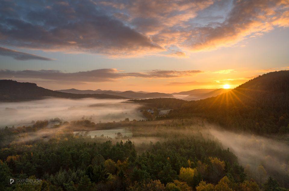 Die Schönheit eines Morgens